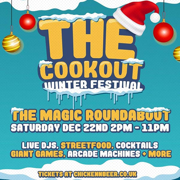 Shoreditch Winter Festival at The Magic Roundabout on Sat 22nd December 2018 Flyer