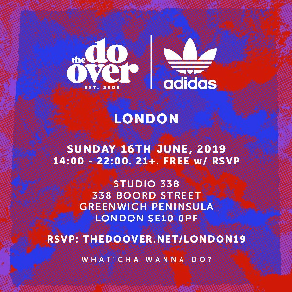 The Do Over at Studio 338 on Sun 16th June 2019 Flyer