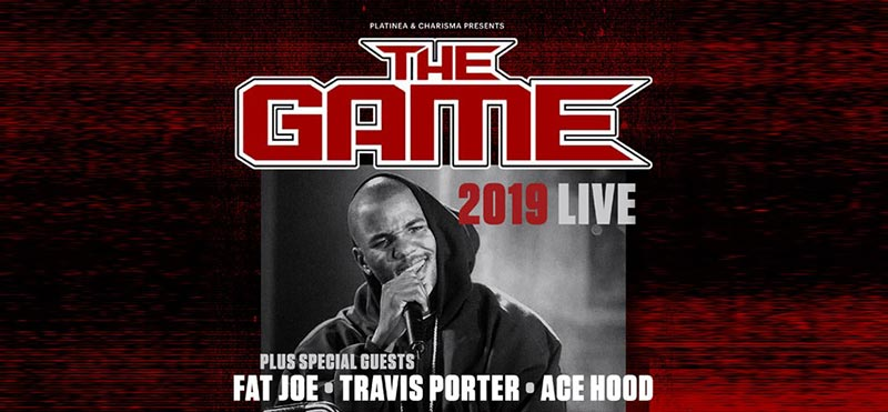 The Game at The o2 on Sun 16th June 2019 Flyer