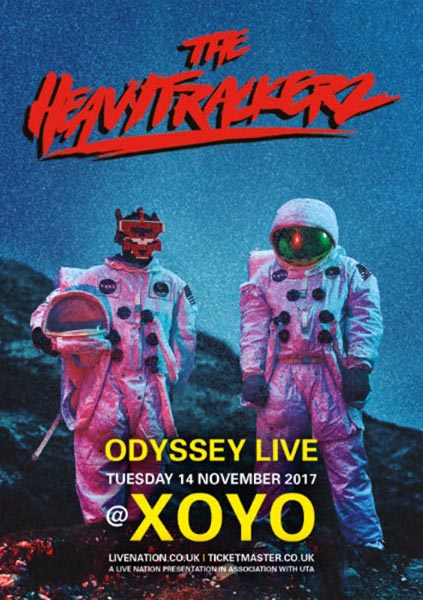 The Heavytrackerz at XOYO on Tue 14th November 2017 Flyer