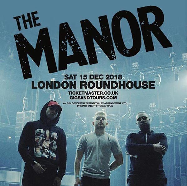 The Manor at The Roundhouse on Sat 15th December 2018 Flyer
