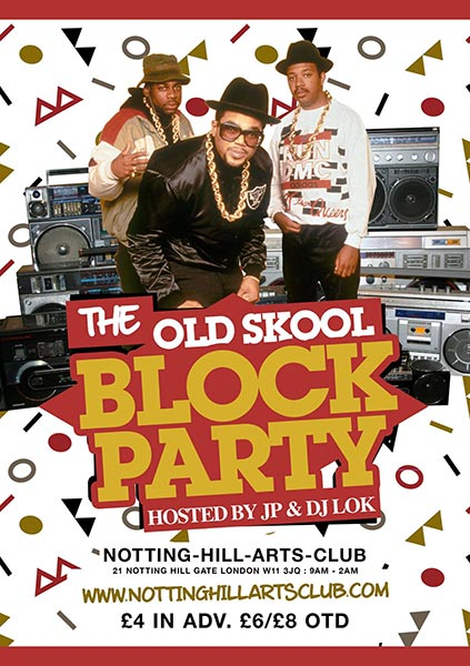 the old school block party notting hill arts club ah sh t