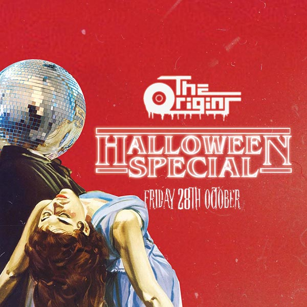 The Origins: Halloween Special at Hoxton Bar & Kitchen on Friday 28th October 2016 Flyer
