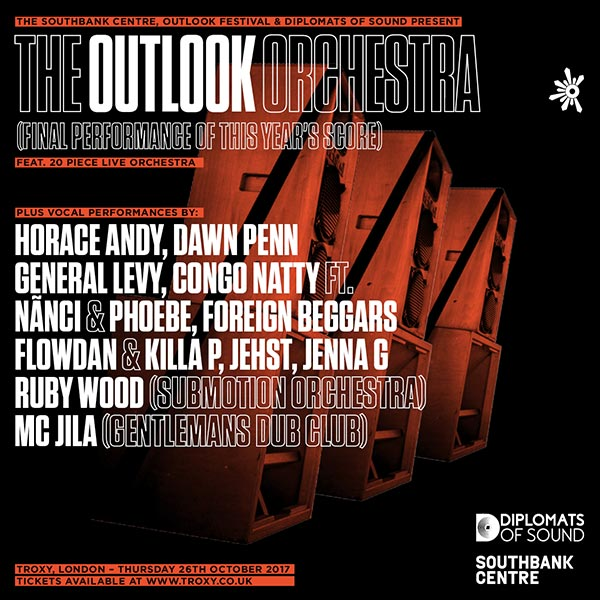 The Outlook Orchestra at Finsbury Park on Thursday 26th October 2017 Flyer