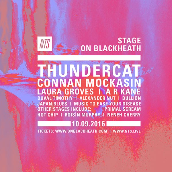 Thundercat at Trapeze on Saturday 10th September 2016 Flyer