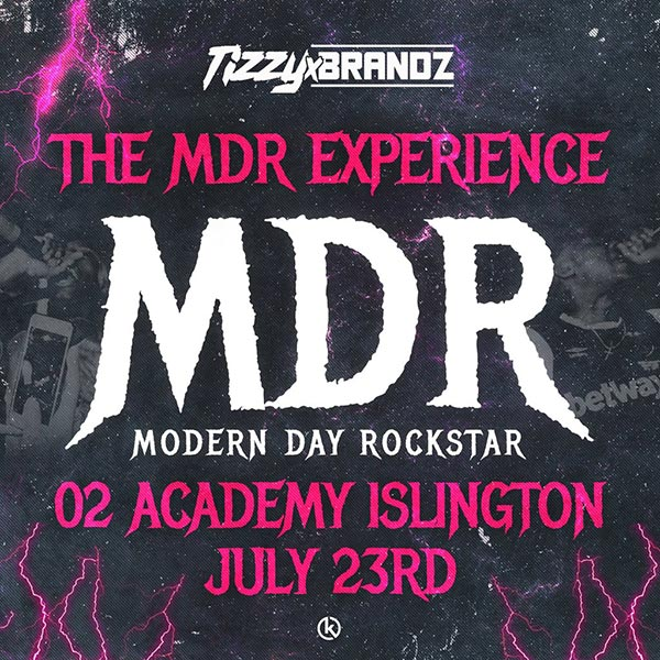 The MDR Experience at Islington Academy on Mon 23rd July 2018 Flyer