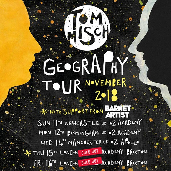 Tom Misch at Brixton Academy on Thu 15th November 2018 Flyer