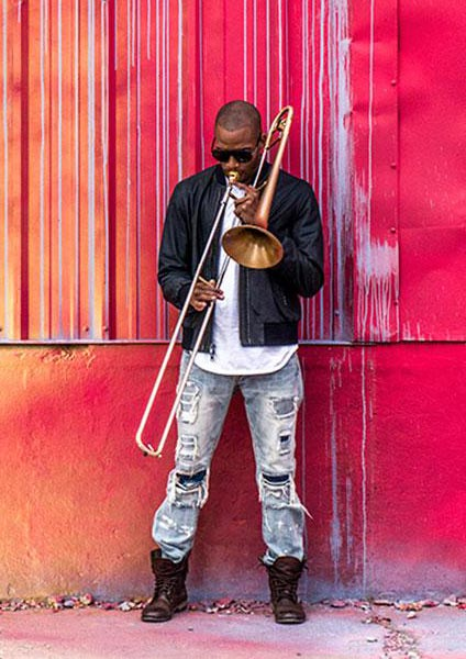 Trombone Shorty at Shepherd