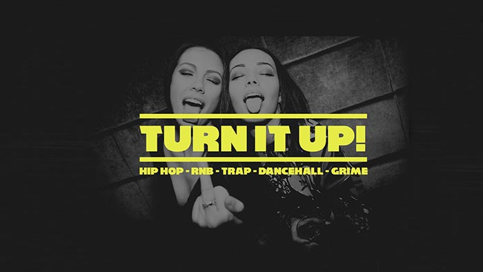 Turn it Up at Big Chill House on Sat 27th May 2017 Flyer