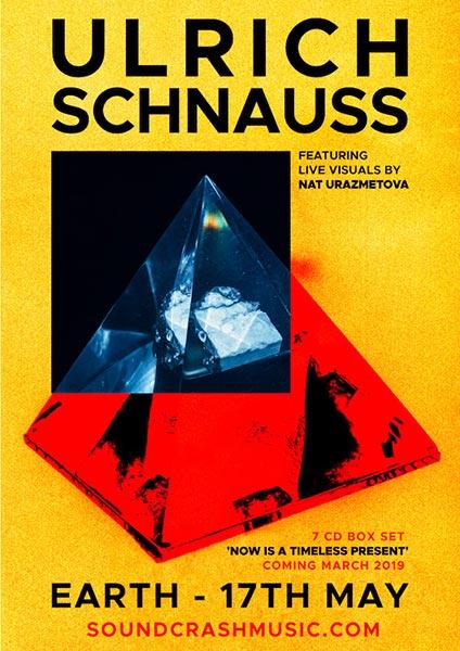 Ulrich Schnauss at EartH on Fri 17th May 2019 Flyer