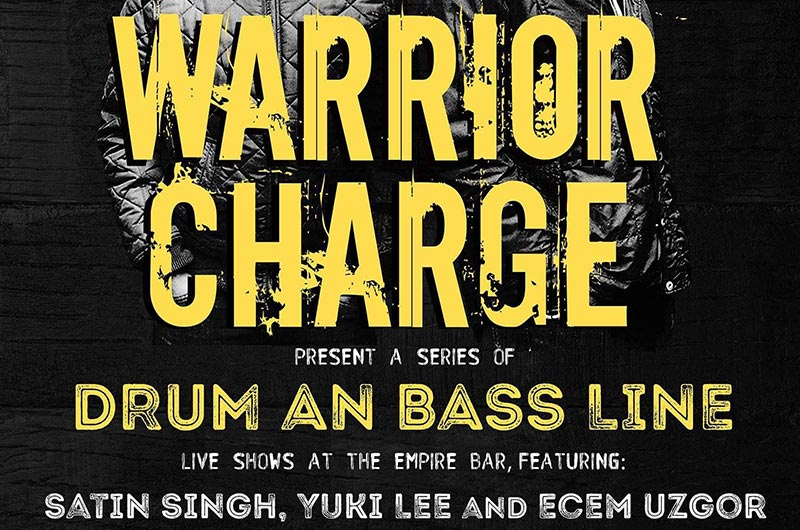 DRUM AN BASS LINE at The Empire Bar on Mon 17th September 2018 Flyer