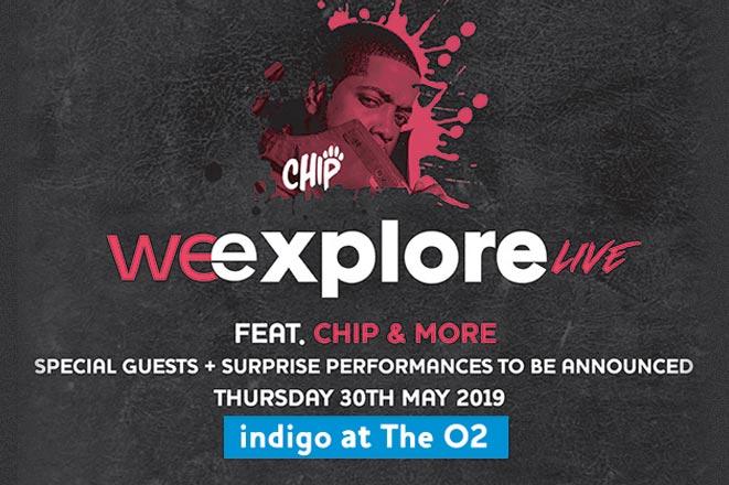 We Explore Live at Indigo2 on Thu 30th May 2019 Flyer