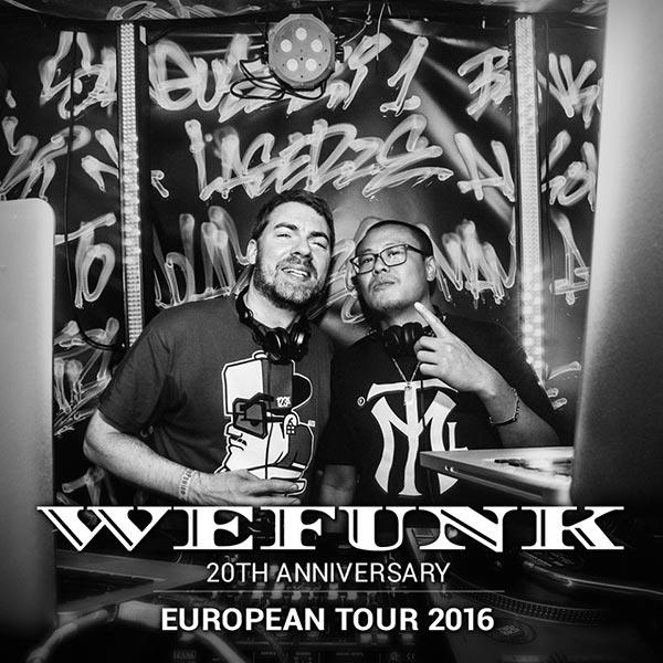 WeFunk Radio Night at Hoxton Bar & Kitchen on Thursday 10th November 2016 Flyer