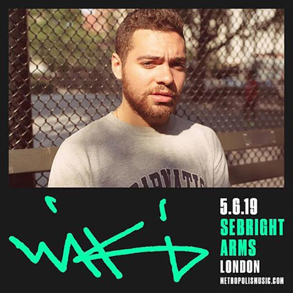 Wiki at Sebright Arms on Wed 5th June 2019 Flyer