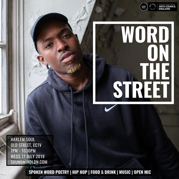 Word on the Street at Harlem Soul on Wed 17th July 2019 Flyer