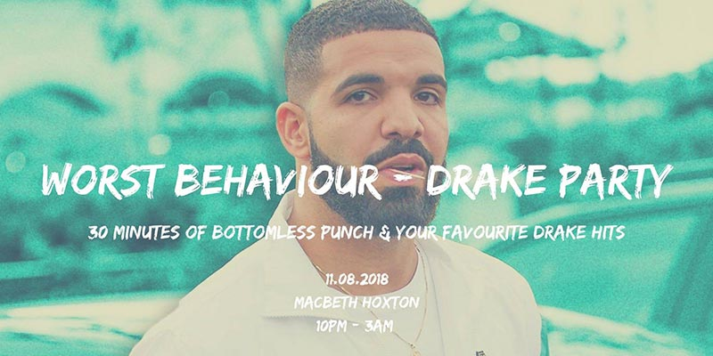 Worst Behaviour at The Macbeth on Sat 11th August 2018 Flyer