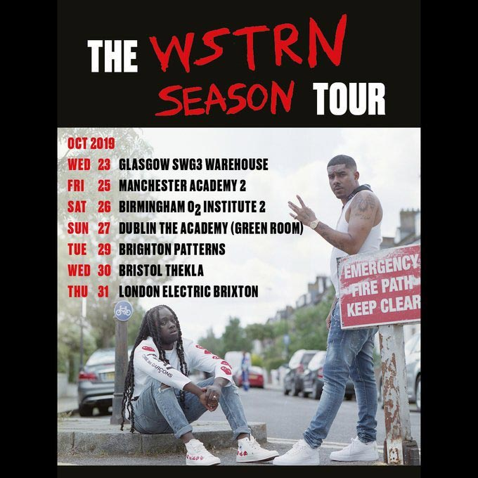 WSTRN at Electric Brixton on Thursday 31st October 2019 Flyer