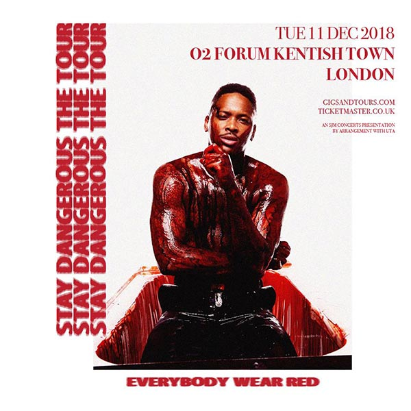 YG at The Forum on Tue 11th December 2018 Flyer