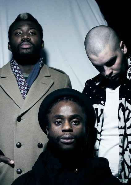 Young Fathers at Royal Festival Hall on Fri 9th June 2017 Flyer
