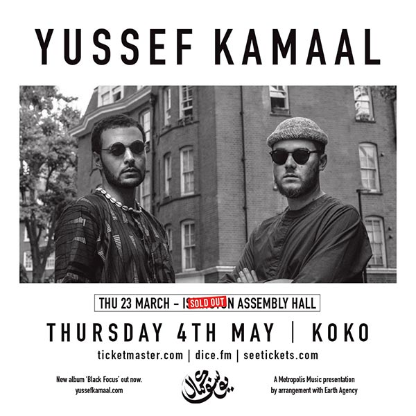 Yussef  Kamaal at The Forum on Thursday 4th May 2017 Flyer