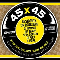 45 x 45s at Old Street Records on Saturday 28th December 2019