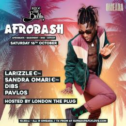 Afrobash at Omeara on Saturday 16th October 2021