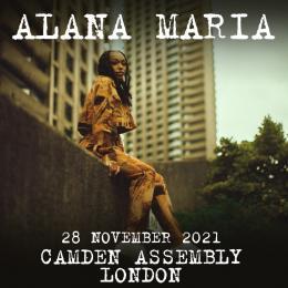 Alana Maria at The Forge on Sunday 28th November 2021