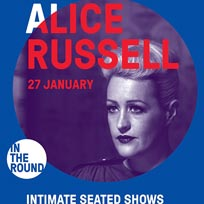 Alice Russell at The Roundhouse on Monday 27th January 2020