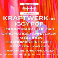 All Points East w/ Kraftwerk 3D at Victoria Park on Friday 29th May 2020