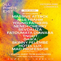 All Points East w/ Massive Attack at Victoria Park on Sunday 24th May 2020