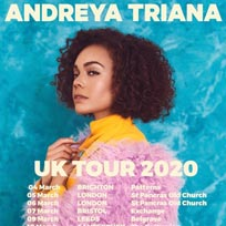 Andreya Triana at St. Pancras Old Church on Thursday 5th March 2020