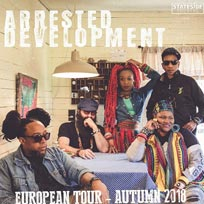 Arrested Development at 606 Club on Monday 12th November 2018