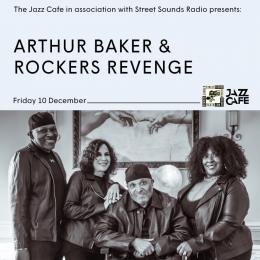 Arthur Baker & Rockers Revenge at Colours Hoxton on Friday 10th December 2021