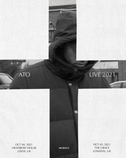 ATO at The Garage on Tuesday 5th October 2021