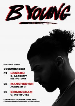 B Young at Islington Academy on Tuesday 7th December 2021