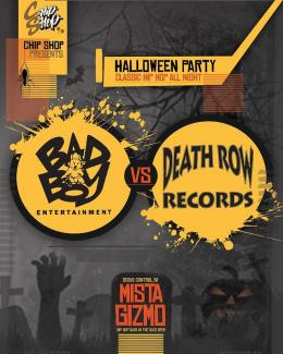 BAD BOY vs DEATH ROW at Chip Shop BXTN on Saturday 30th October 2021