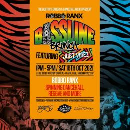 Bassline Brunch at The Blues Kitchen Brixton on Saturday 16th October 2021