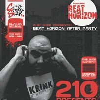 Beat Horizon Afterparty at Chip Shop BXTN on Saturday 18th January 2020
