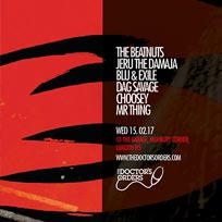 Blu & Exile, The Beatnuts, Jeru the Damaja + More at The Garage on Wednesday 15th February 2017