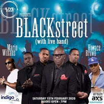 Blackstreet at Indigo2 on Saturday 15th February 2020