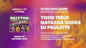Brixton Disco Festival Pre Party at Brixton Village on Friday 8th October 2021