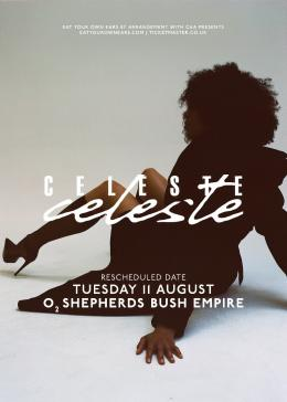 Celeste at Shepherd's Bush Empire on Tuesday 11th August 2020