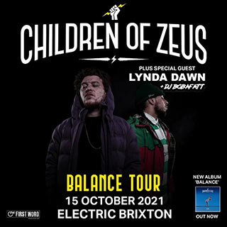 Children of Zeus at Electric Brixton on Friday 15th October 2021