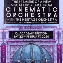The Cinematic Orchestra at Brixton Academy on Saturday 22nd February 2020