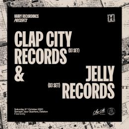 Clap City & Jelly Records at Servant Jazz Quarters on Saturday 2nd October 2021