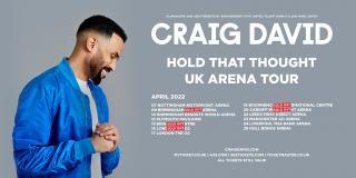 Craig David at The o2 on Saturday 16th April 2022