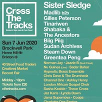 Cross The Tracks at Brockwell Park on Sunday 7th June 2020