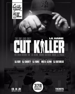 Cut Killer at Chip Shop BXTN on Saturday 13th November 2021