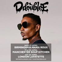 D Double E at Lafayette on Saturday 4th April 2020