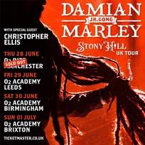 Damian Marley at Brixton Academy on Sunday 1st July 2018